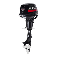 China 9.9hp Outboard Engine For Fishing Boat best price Marine 2 Stroke Outboard Motor Engine for Boat