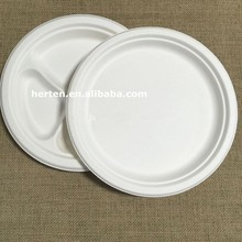 sugarcane bagasse disposable tableware/ biodegradable tableware/ biodegradable plates herten