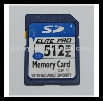 OEM 512 MB scan sd memory card
