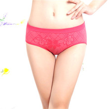Women's Sexy Hipster Panties Nylon Breathable Briefs Seamless <strong>Underwear</strong>