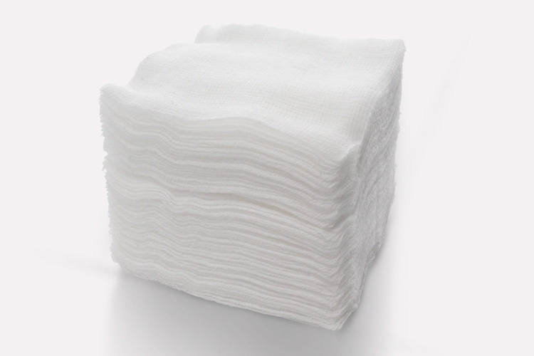 Medical 4x4 sterile folded edge gauze pads