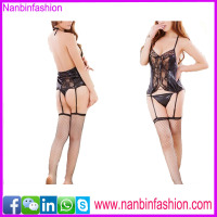 Fashion black sexy girls lingerie nighty wear natural latex babydoll