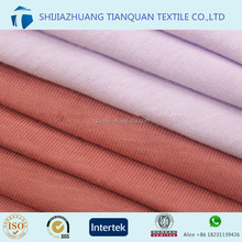 32s 40s 100% cotton combed single jersey fabric for t-shirt