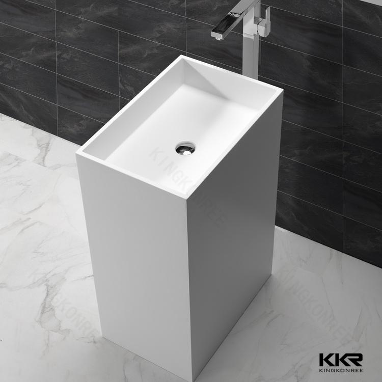 Bathroom wash basins aluminum sink free standing basin for Wash basin bathroom sink