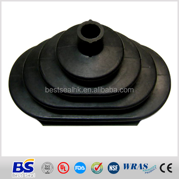 High quality EPDM rubber bulb seals black