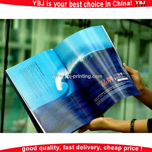 Custom design softcover cooking books printed dvd packi