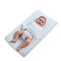 Soft Cotton Cover and Waterproof Cover Diaper Baby Changing Mat Baby Changing Pad With Straps To Keep Baby Safe