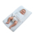 Soft Cotton Cover and Waterproof Covered Baby Changing Pads Baby Changing Mat With Straps To Keep Baby Safe