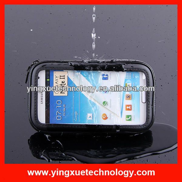 for Samsung Note II Weather proof Case Bike Mount Holder