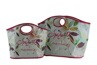 PP woven shopping bags is the first choices for supermarkets and promotional items