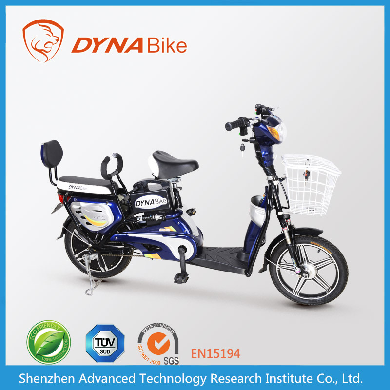 DYNABike Wholesale cheapest USD139 electric bike with pedals electric moped 48V 350W