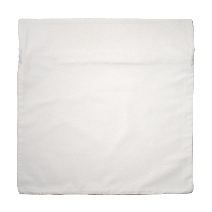 Wholesale white Throw pillow cover 18 x 18 Inch For Printing