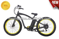 buy strong fat tire electric chopper bike 48V 500W