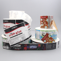 Hot Sale Packaging Adhesive Paper Sticker