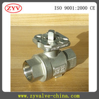 short delivery manual isolation ball valve