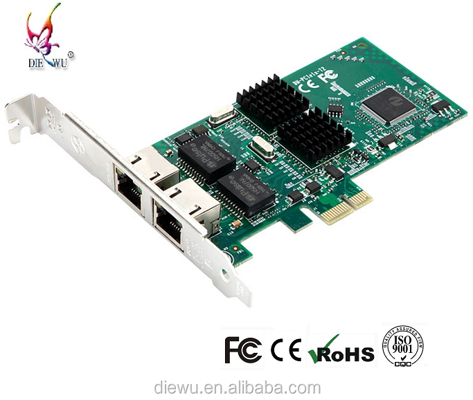 hot sale PCIe gigabitit intel82541chip server network card NIC host network bus adapter