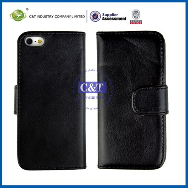 Manufacturer mobile phone cover hot sellings wallet case for iphone 5c