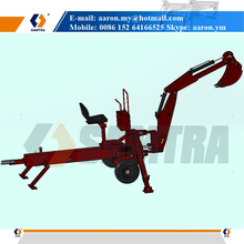Mower Tractor Towed Backhoe Digger