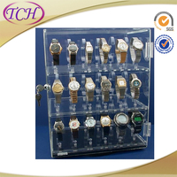 Alibaba China Supplier led acrylic lighted display case for hot toys
