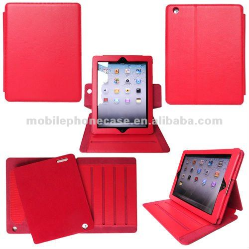 Shockproof Leather Removable Cover Fancy Flip Tablet Case For iPad Mini 3