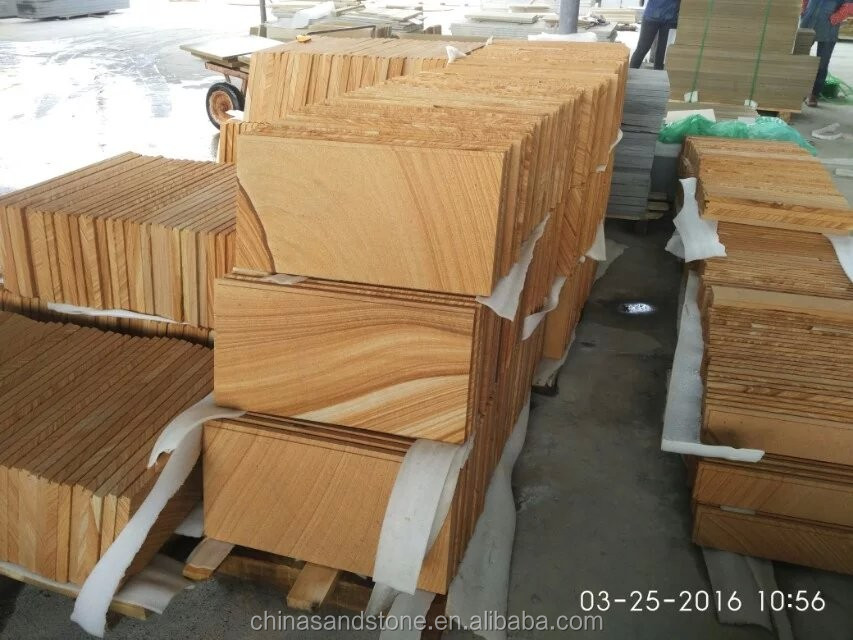 Wholesale Yellow Sandstone for project