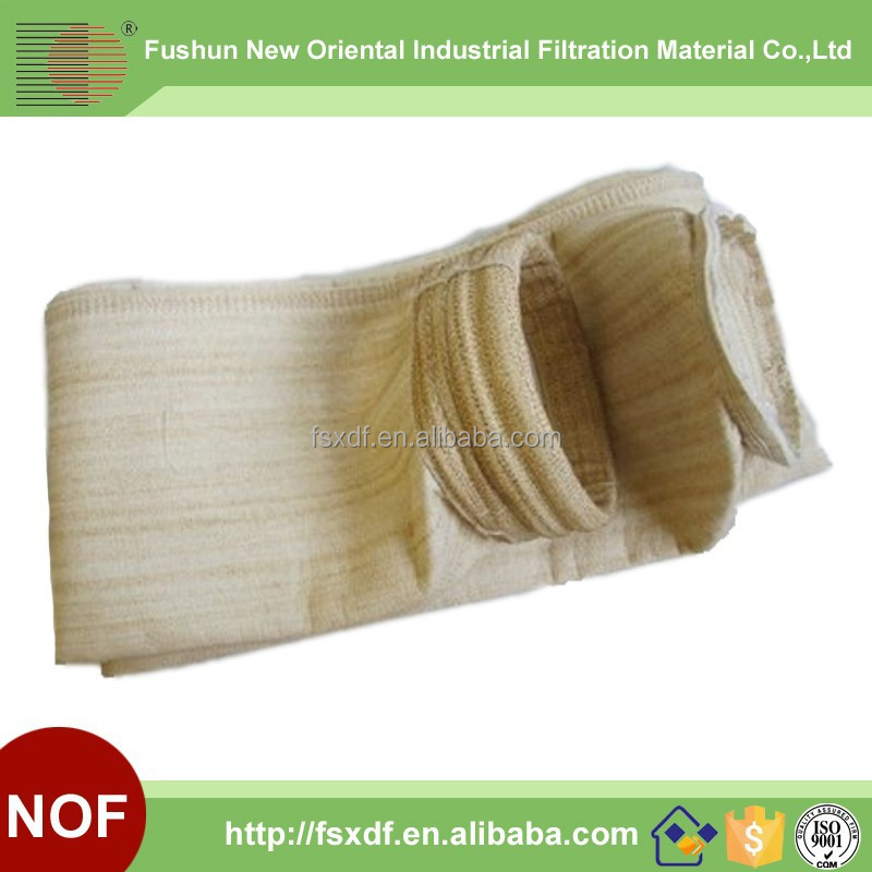 Designed for thin dry gas cleaning of lime kiln dust filter bag/Nomex bag filter