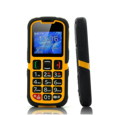 Senior Citizen Phone - Rugged, SOS, Quad Band GSM, Bluetooth