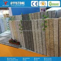 Top quality bush hammered interlocking paving stones for garden