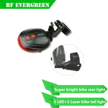 supply factory quality gurantee best High Brightness bicycle laser led rear light