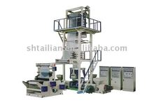 Three to five layer co-extrisoonm film blowing machine(IBC vesicle-cooled type)