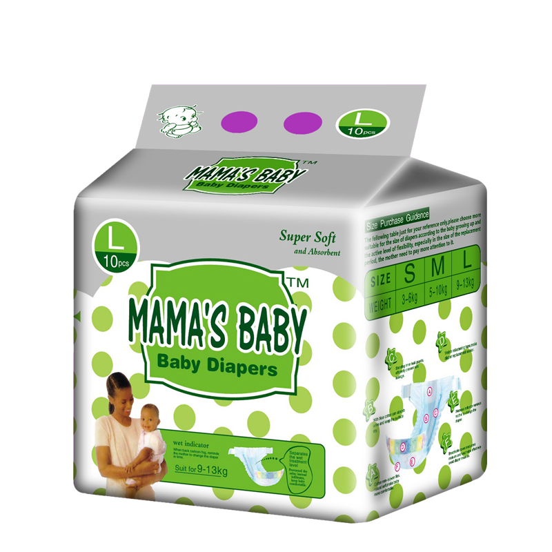 Factory Price FDA Ceritificate Fast Delivery Baby Diaper in Guangzhou Supplier from China