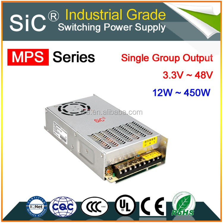 CE Approval Q-120 120W Quad output switching power supply 120W