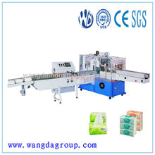 Full-auto Table Napkin Paper/Facial Tissue Vacuum Soft Packaging Machinery for sale, paper napkin packing machine( WD-FT-SPM1)