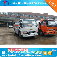 2017 Hot sale small Fuel Tank Truck 4X2 Oil Tanker for sale