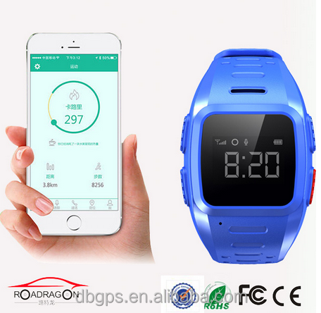 China hot sale 3g gps personal trackers watch for alzheimer kids support google map tracking