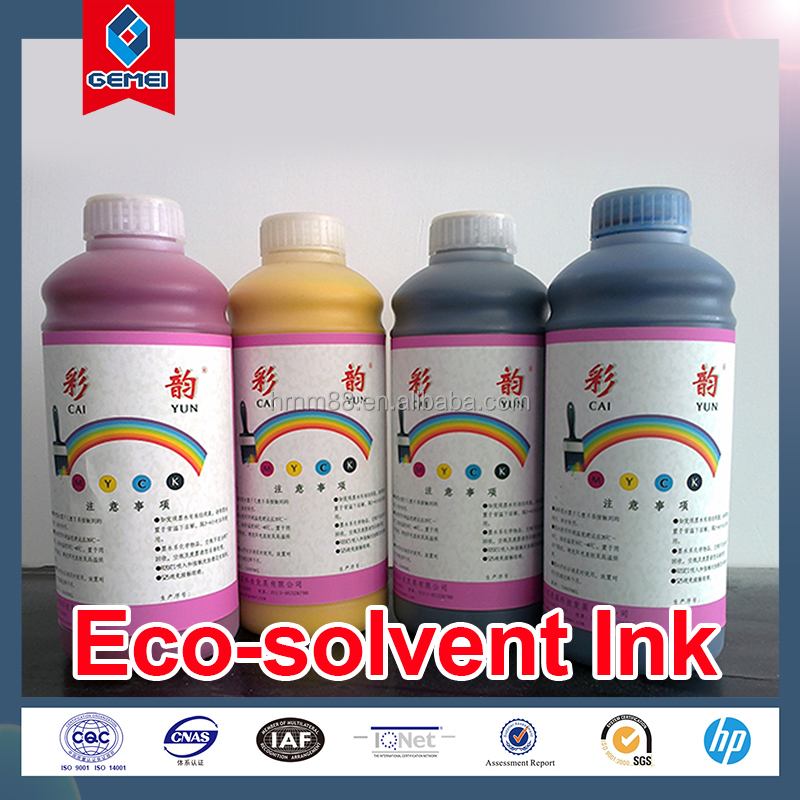 Wide Color Gamut Eco-solvent Ink Compatible for Mimaki Roland