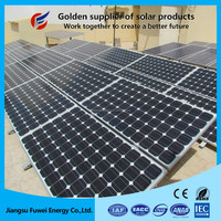 Low cost 4kw 5kw roof rack solar panel home solar power system