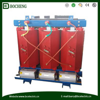 11KV Epoxy rein cast dry type transformer with encloser