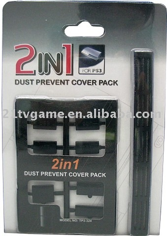 2in1 dust prevent cover pack for PS3, Game accessories, Game parts
