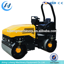 road roller vibrator construction equitments compact weight of road roller - LUHENG