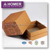 Hot Sale Luxury Special Texture Paper Rigid Box With Lid