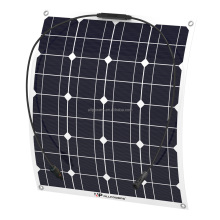 50W 100W 250W Monocrystalline Semi Flexible Solar Panel PV Module