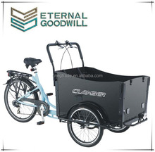 Three wheels cargobike Nexus 7 speeds cargobike trike family cargo bike / utility cargo bicycle UB9019