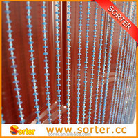 Modern fashional plastic beaded curtain for home decoration