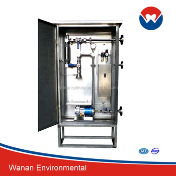 oil and gas system/liquefied gas sampler