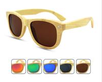 2016 Polarized Custom Wood Sunglasses Wholesale Handmade in China