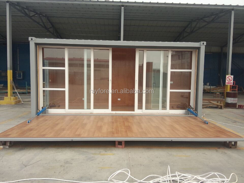 Foldable container coffee shop mordular container house