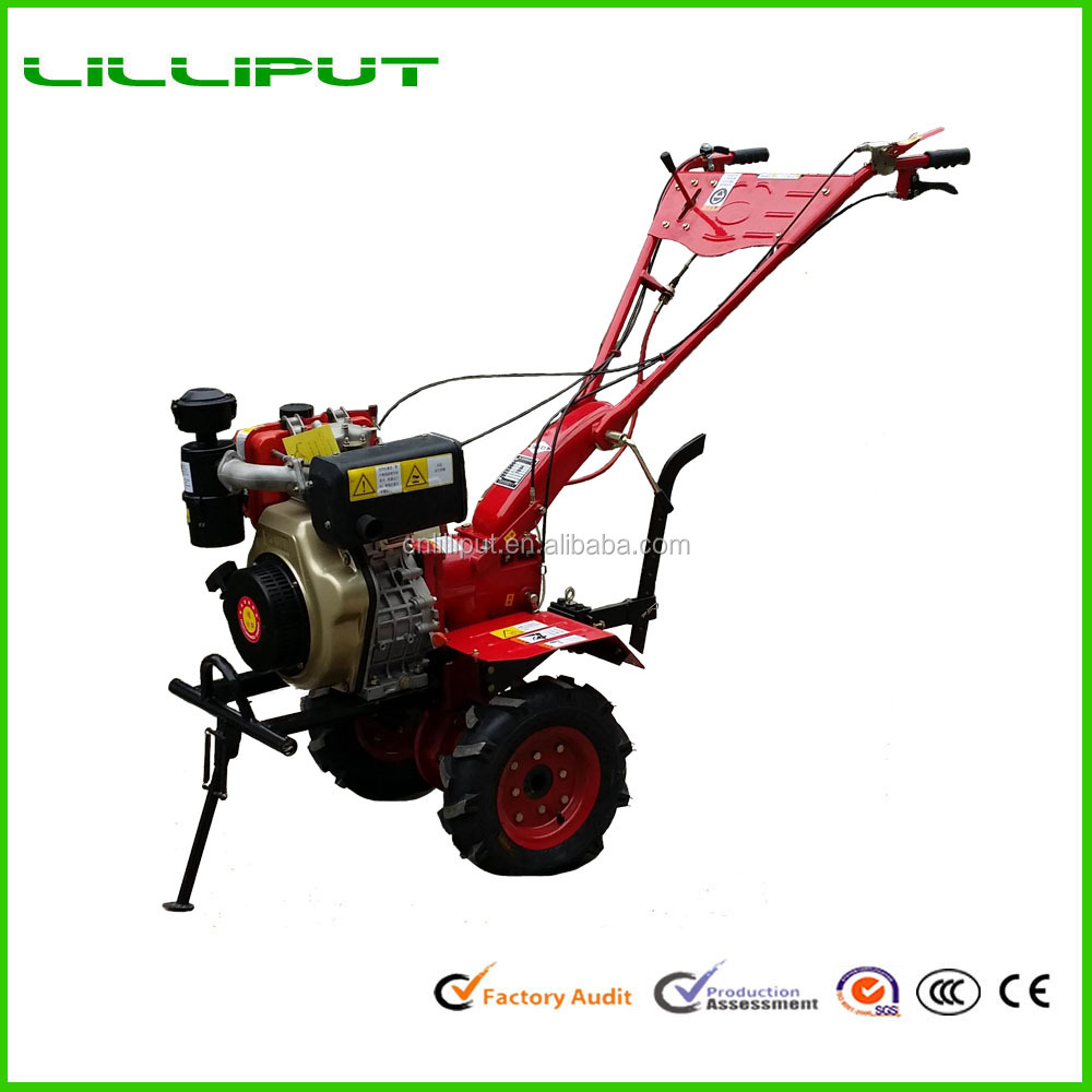 12HP Diesel Engine Rotary Power Tiller