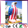 Large Cool Eagle National Flag Printing Inflatable Advertising Balloon For Commercial Use