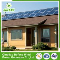 Bottom Price High Class solar thermal energy on grid solar system for home use